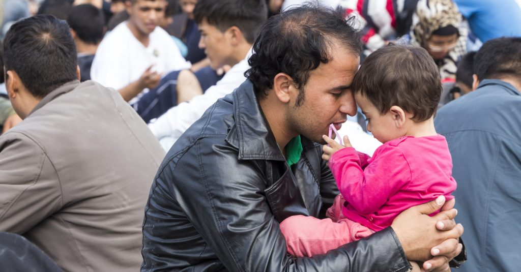 ministering to refugees